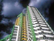 Gloednieuwe flats. Royalty-vrije Stock Fotografie