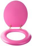 Gloednieuwe toiletzetel Stock Foto