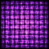 Gloeiend Geruit Patroon met Lichteffect Stock Foto's