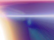Gloeiend landschap Vector Illustratie