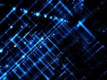 Gloeiend portaal - abstract digitaal geproduceerd beeld Stock Afbeeldingen