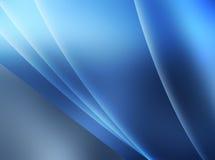 Gloeiende Blauwe Abstracte Achtergrond royalty-vrije illustratie