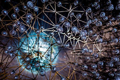 Gloeiende bollen Royalty-vrije Stock Afbeeldingen
