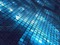 Gloeiende cellen - abstract digitaal geproduceerd beeld Stock Afbeeldingen