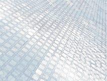 Gloeiende cellen - abstract digitaal geproduceerd beeld Royalty-vrije Stock Foto's