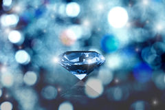 Gloeiende diamant royalty-vrije stock fotografie