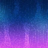 Gloeiende Golven van Lijnenachtergrond Royalty-vrije Stock Afbeelding
