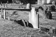 Gloeiende grafsteen Stock Afbeelding