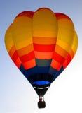 Gloeiende Kleurrijke Ballon Stock Fotografie
