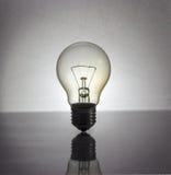 Gloeiende lamp stock fotografie