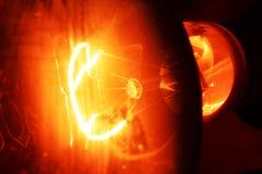 Gloeiende lamp royalty-vrije stock foto's