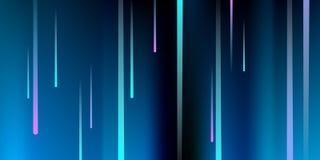Gloeiende lijnen Digitale Dalende Glans vector illustratie