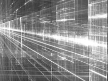 Gloeiende manier - abstract digitaal geproduceerd beeld Stock Foto's