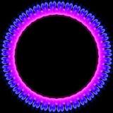 Gloeiende Ring Stock Afbeelding