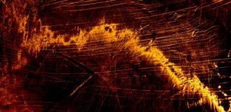 Gloeiende rode abstracte achtergrond Stock Afbeeldingen