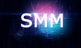 Gloeiende SMMM-achtergrond royalty-vrije illustratie