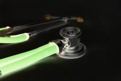 Gloeiende stethoscoop Royalty-vrije Stock Foto's