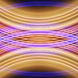 Gloeiende strepen van stroken van lichte banden Stock Afbeelding