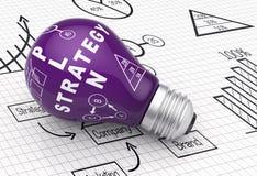 Het plan van de strategie Royalty-vrije Stock Foto
