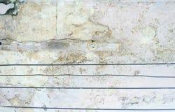 Gloeilamp op de Oude Motar-Muur Hipster abstracte achtergrond Royalty-vrije Stock Foto's