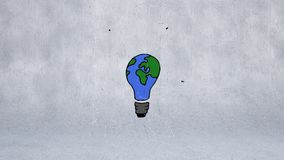 Gloeilampenbol stock illustratie