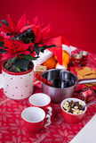 Glogg punch for Xmas Stock Image