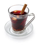 Glogg, scandinavian mulled wine Stock Photos