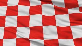 Glogow-Stadt-Flagge, Polen, Nahaufnahme-Ansicht Lizenzfreie Abbildung