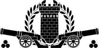 Gloire d'artillerie illustration de vecteur