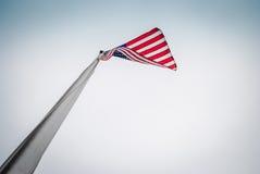Gloire de drapeau d'US/American vieille Images libres de droits