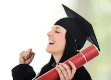 Gloire et fierté de graduation, Image stock