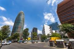 Gloires de Torre, à l'origine appelées Torre Agbar photos stock