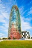 Gloires de Torre ou Agbar, Barcelone photos libres de droits