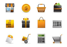 Glomelo Icon Series - Shopping Stock Photos