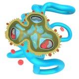 Glomerulonefrite illustrazione vettoriale