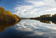 Glomma flod Royaltyfria Foton
