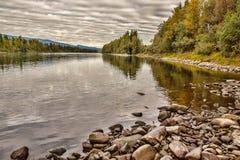 Glomma rzeka Zdjęcia Stock