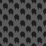 Backdrop with rats on a grey background vector illustration