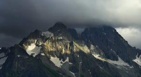 Gloomy Caucasus Royalty Free Stock Photo