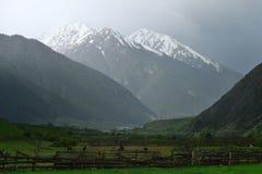 Gloomy Caucasus Royalty Free Stock Image