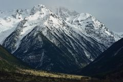 Gloomy Caucasus Royalty Free Stock Photos