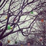 Gloomy Easter stock photos