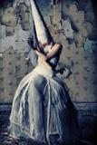 Gloomy girl Royalty Free Stock Photography