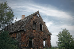 Gloomy haunted house Royalty Free Stock Photo
