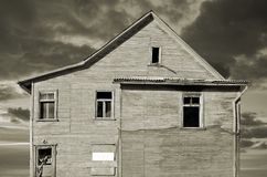 Gloomy house. Stock Images