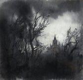 Gloomy landscape Royalty Free Stock Photos