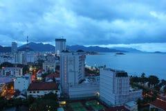 Gloomy morning in Nha Trang Stock Photography