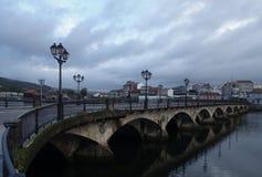 Gloomy morning in Pontevedra Royalty Free Stock Photography