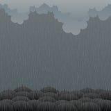 Gloomy Rain royalty free stock images