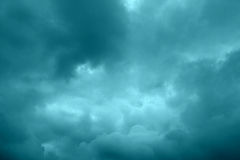 Gloomy sky Stock Photography